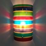 colourstripe wall lamp
