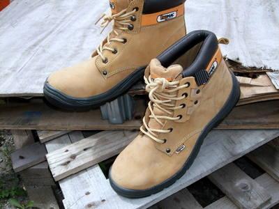HYM004 Hymac Safety Boots (Tan) S3