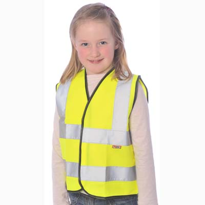 HYM101 Hymac Kids Hi Visibility Vest