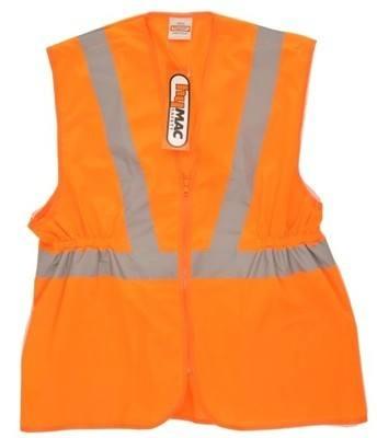 HYM002 (Carton) Hymac Hi Vis Long Rail Vest