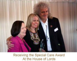receiving special care award 200