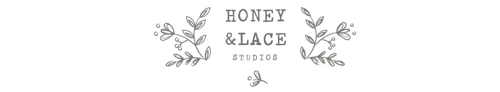 Honey & Lace Studios, site logo.