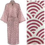 """Women's Kimono Dressing Gown - Rainbow Red - """"first class"""" outlet"""