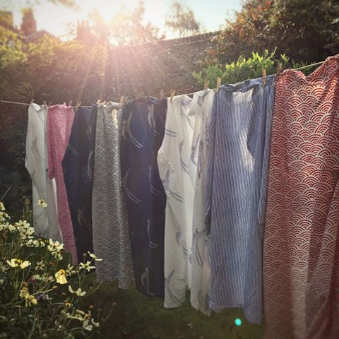 Susannah Gowns in the evening sun