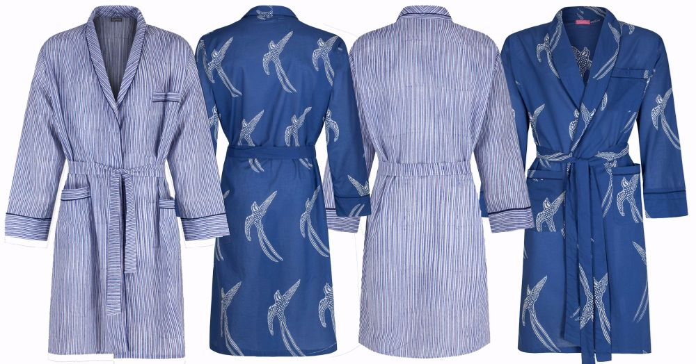 Susannah Cotton Men's Dressing Gowns