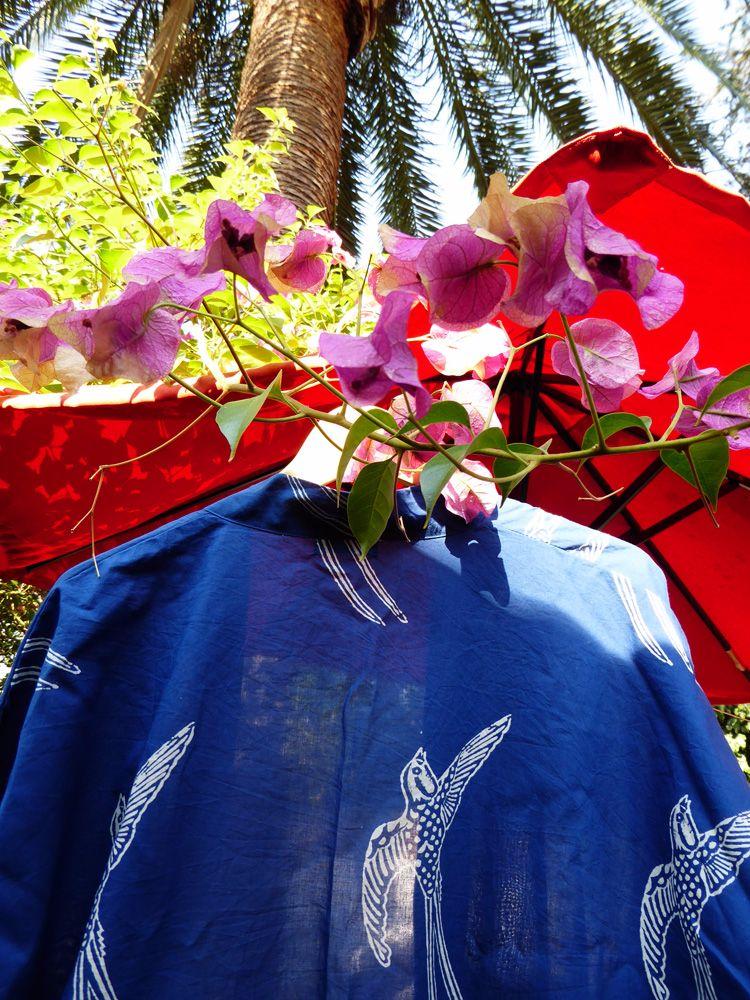 Susannah Cotton Kimono Robe