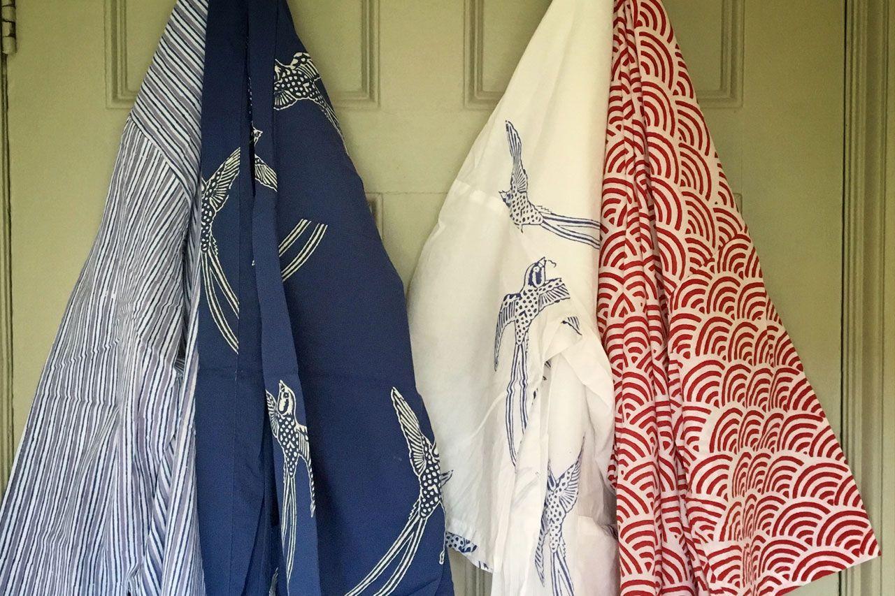 Susannah Cotton Kimono Robe Dressing Gown