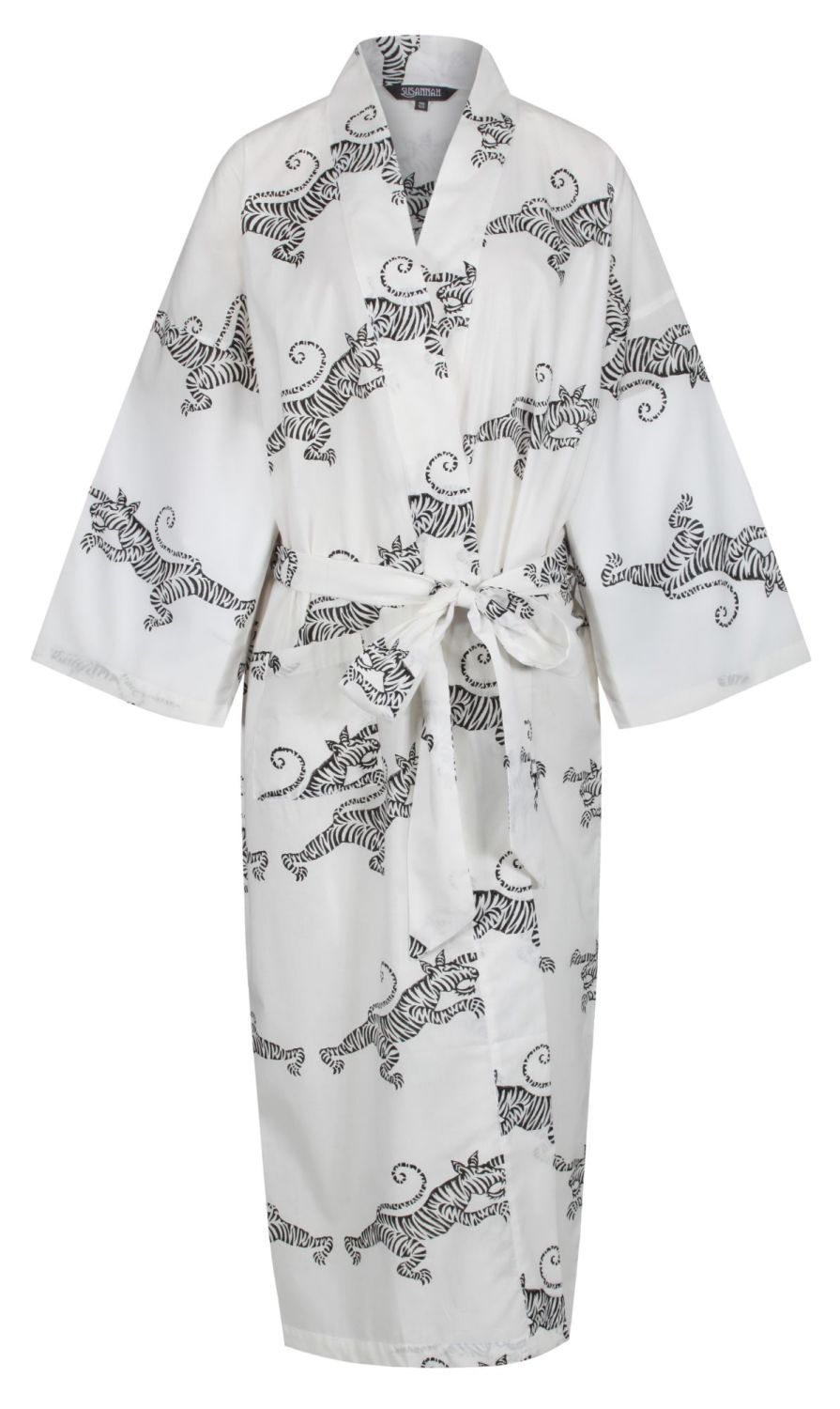 <b>JUST IN! (awaiting photos) Women's Cotton Dressing Gown Kimono - Tigers