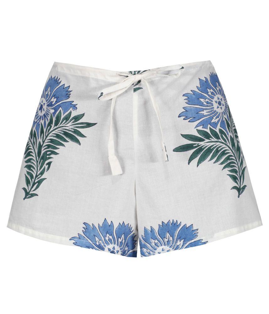 Women's Shorts - Wild Flower