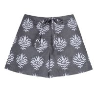 Women's Shorts - SunFlower on Grey