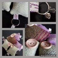 Lavender Key Rings