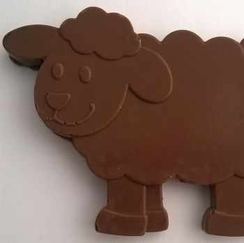 Chocolate Sheep and Lambs