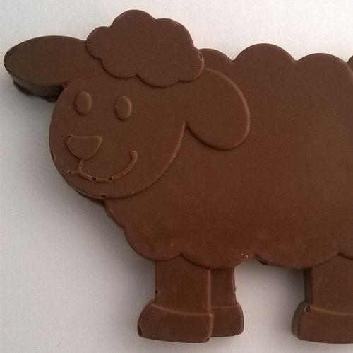 Chocolate Sheep and Lambs