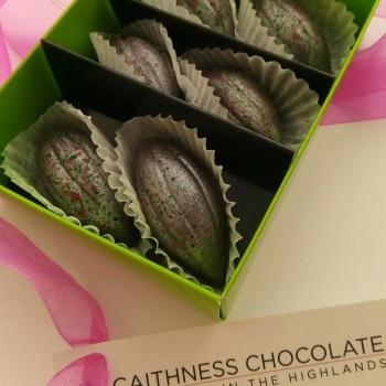 Box of 6 Handmade Chocolates