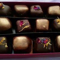 Box of 12 Dark Chocolate Turkish Delight