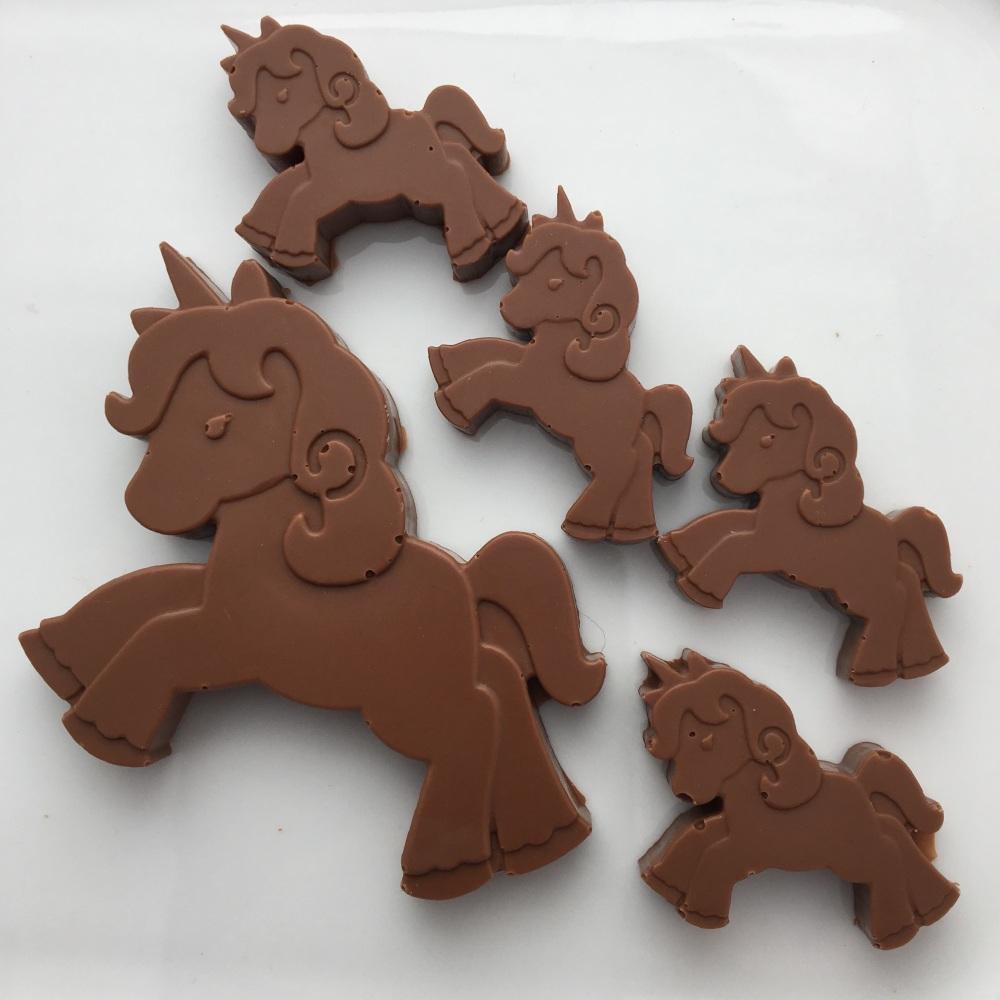 Milk Chocolate Unicorns