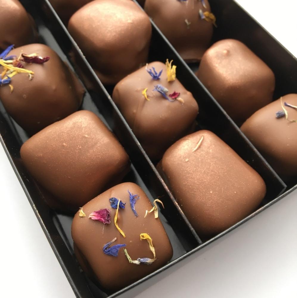 Box of 12 Milk Chocolate Covered Turkish Delight