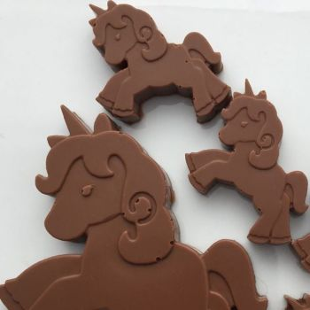 Unicorn Hot Chocolate  Milk Chocolate Stirrer