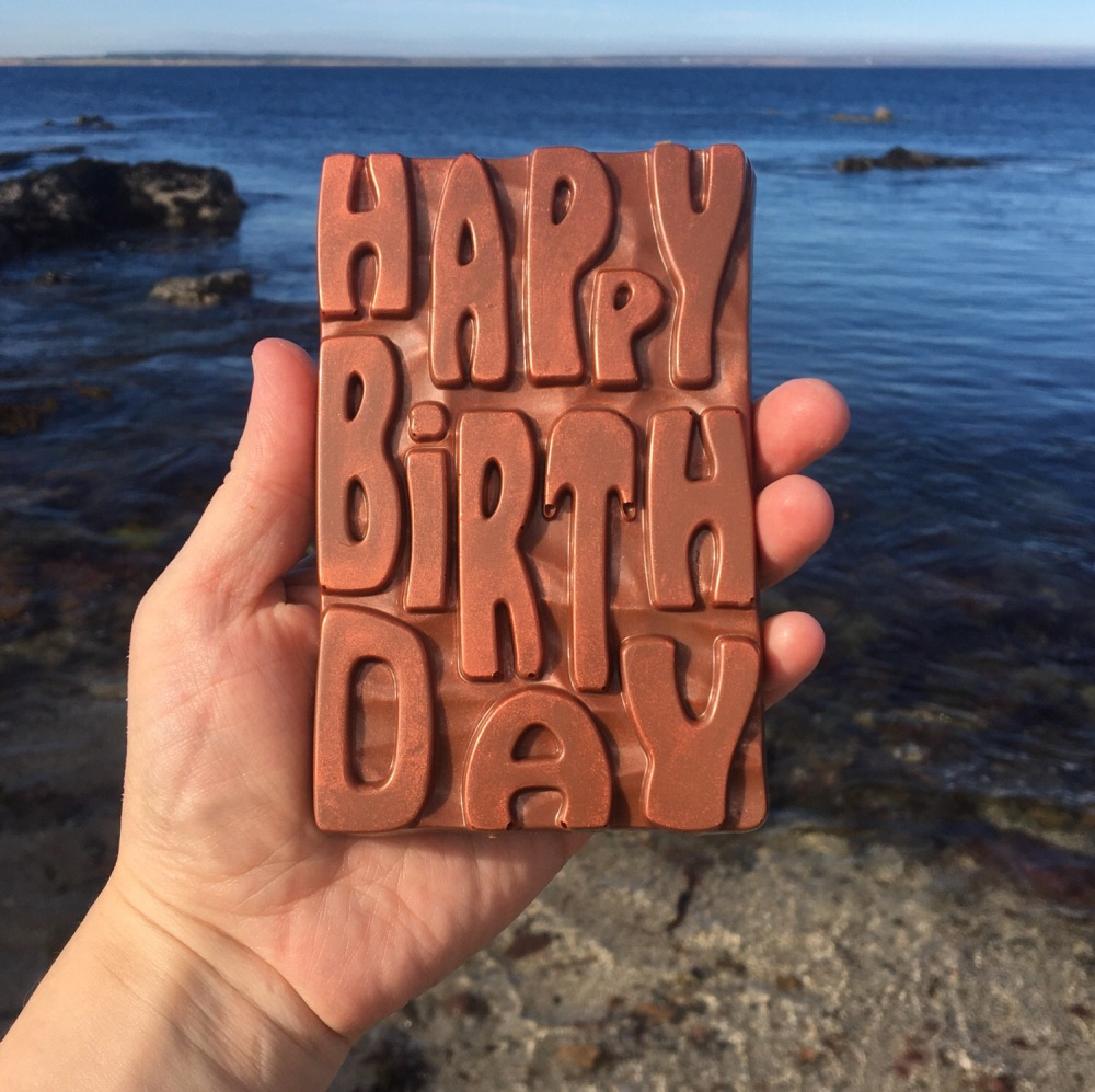 Happy Birthday Milk Chocolate Bar