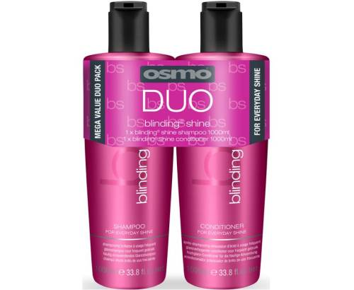 Osmo Blinding Shine Shampoo & Conditioner 1000ml Twin Pack