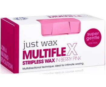 Just Wax Multiflex Stripless Wax Berry Pink 700g