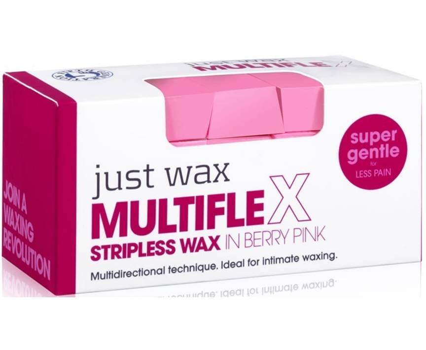 Just Wax Multiflex Stripless Wax Berry Pink 700g