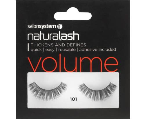 Naturalash Strip Lashes 101 Black