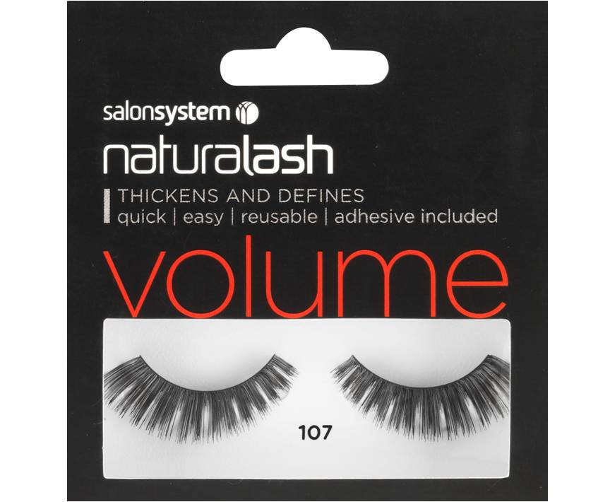 Naturalash Strip Lashes 107 Black