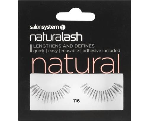 Naturalash Strip Lashes 116 Black