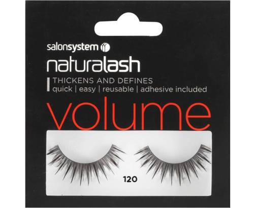 Naturalash Strip Lashes 120 Black