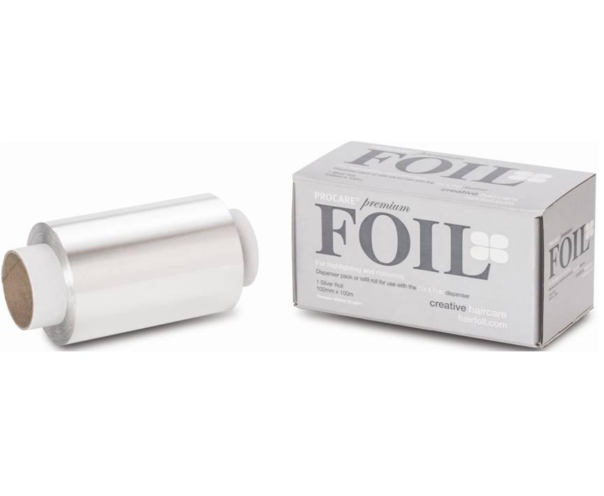 Procare Foil 100mm x 100mm Silver