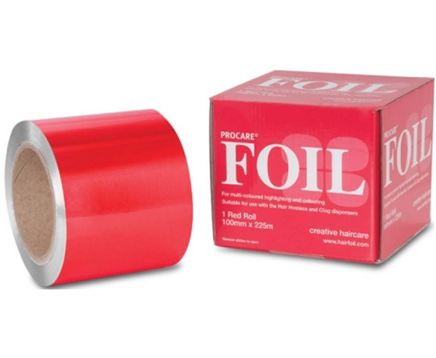 Procare Foil 100mm x 225mm Red