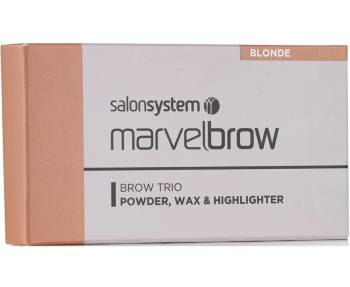 Marvelbrow Brow Trio Blonde