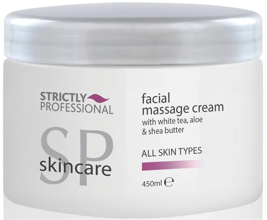 SP Skincare All Skin Types Facial Massage Cream 450ml