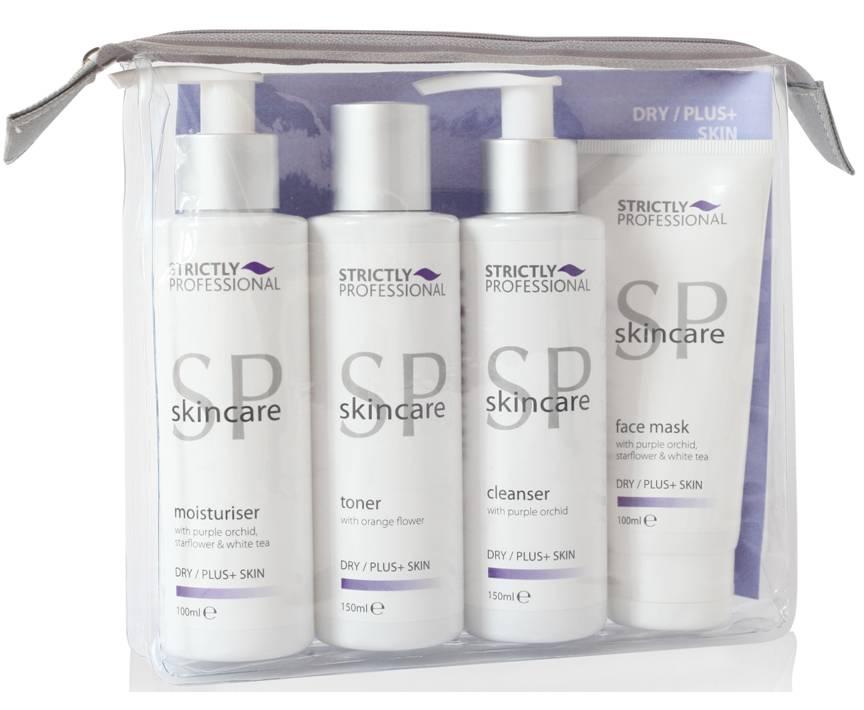 SP Skincare Dry/Plus+ Kit 4 Pack