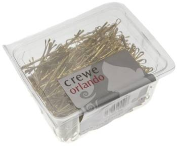 "Crewe Hair Grips Waved 2"" 500 Pack Blonde"