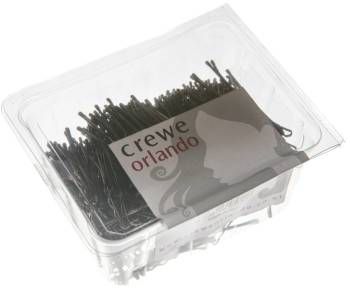 "Crewe Hair Grips Waved 2"" 500 Pack Brown"
