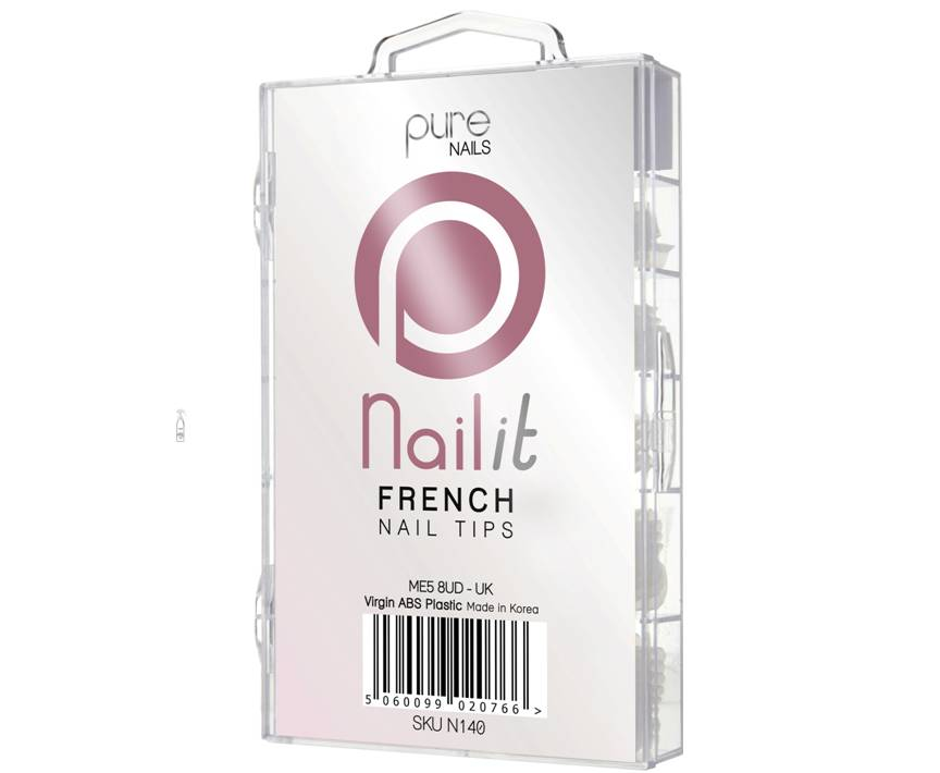 Nail It French White Tips 100 Pack