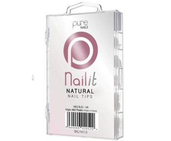 Pure Nails Natural Full Well Tips 100 Pack