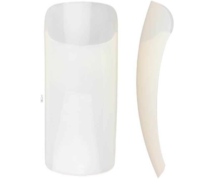 Nail It Natural Full Well Tips Size 8 50 Pack