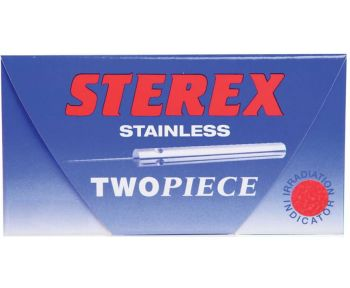Sterex Stainless Two Piece Needles F2S Short 50 Pack