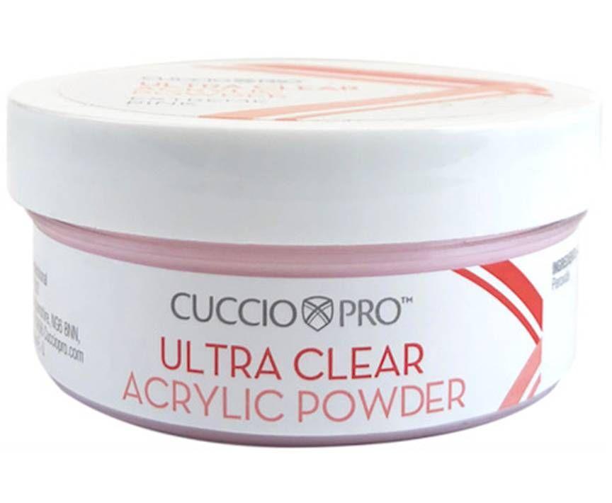 Cuccio Pro Ultra Clear Acrylic Powder Extreme Pink 45g