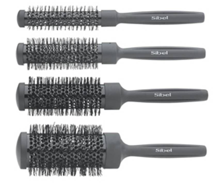 Sibel Brush Set Black 4 Pack