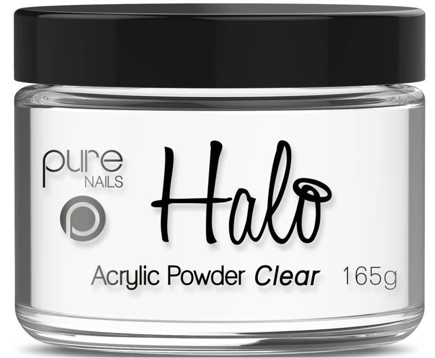 Halo Acrylic Powder Clear 165g