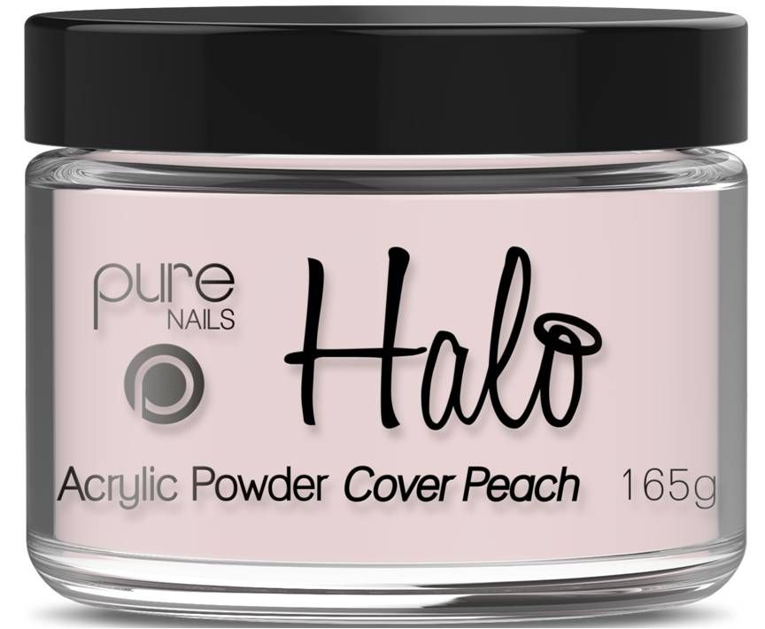 Halo Acrylic Powder Cover Peach 165g