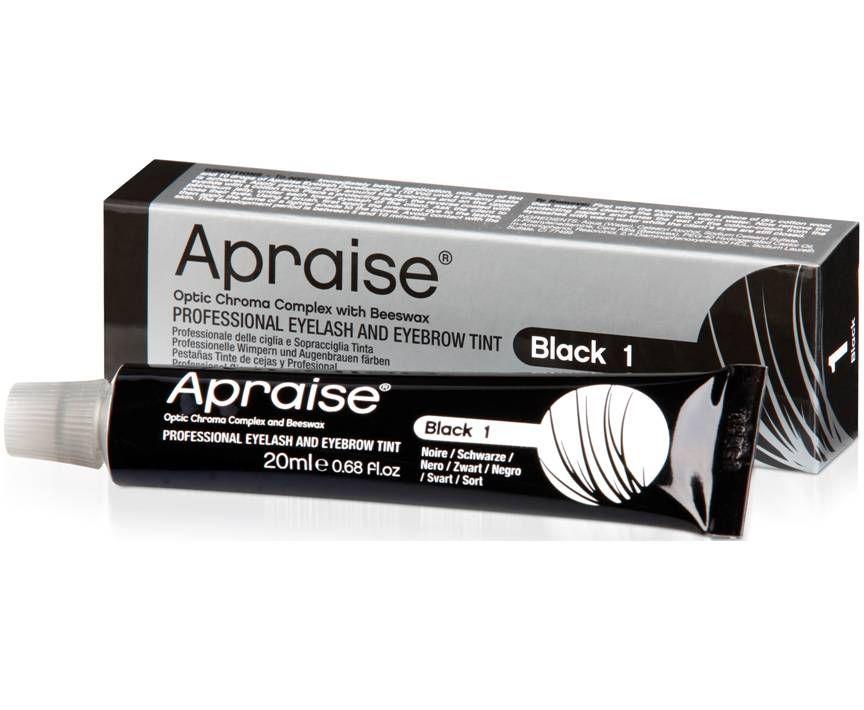 Apraise Eyelash & Eyebrow Tint No.1 Black 20ml
