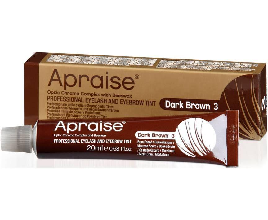 Apraise Eyelash & Eyebrow Tint No.3 Dark Brown 20ml