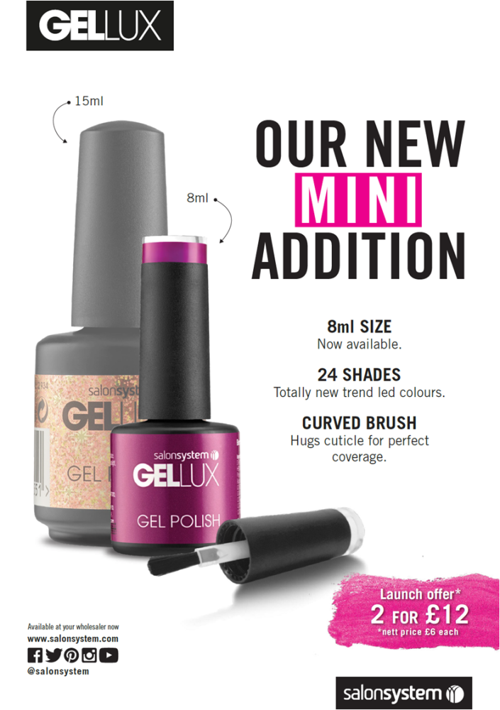 *2 for £12* Gellux 8ml *SELECT SHADE*