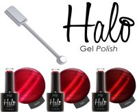 *Halo Gel Queen Of Hearts Collection 3 Pack & Magnet