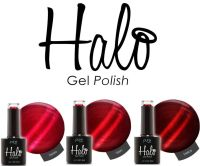 *Halo Gel Queen Of Hearts Collection 3 Pack